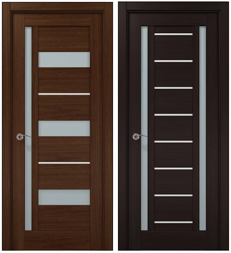 НОВИНКА! Межкомнатные двери серии Millenium с алюминиевым молдингом от