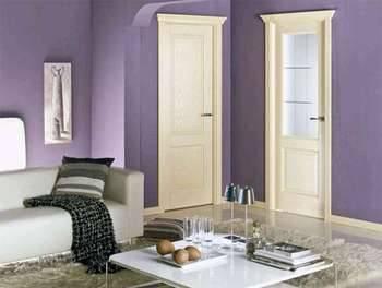 Преимущества выбора межкомнатной двери из натурального шпона