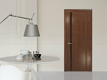 Шпон файн-лайн - современный, новый, натуральный материал для облицовки дверей