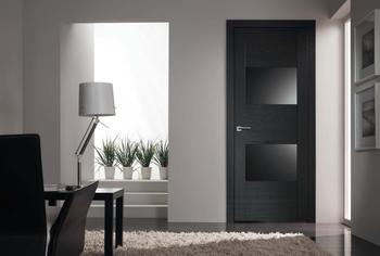 Современные межкомнатные двери в стиле Hi-tech