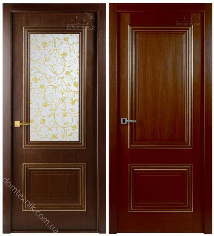 межкомнатные двери Belwooddoors франческо венге в комплектации с
