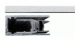 Порог алюминиевый врезной Comaglio