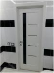 Межкомнатная дверь Грета черное стекло (02.04.2018)
