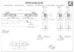 Раздвижная система+направляющая Koblenz Art.040040/G200E 40кг.